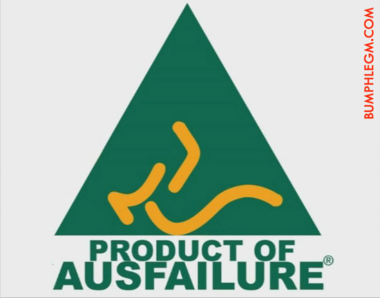 product of ausfailure..