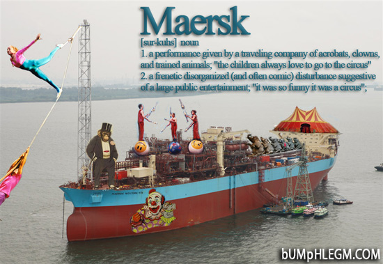maersk - danish for circus