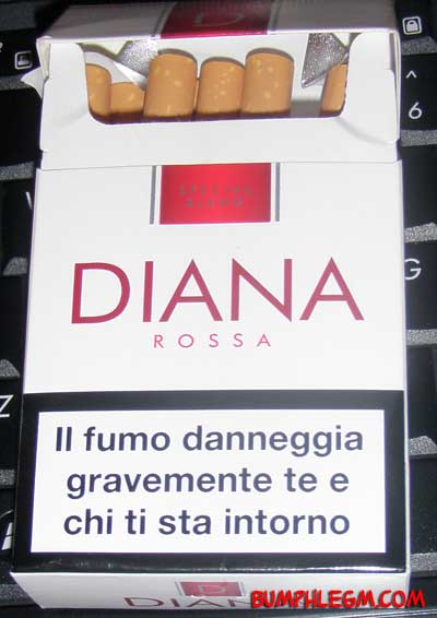 diana ross cigarettes