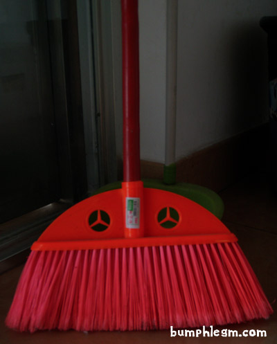 mercedes benz broom