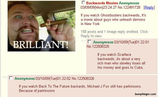 movies backward