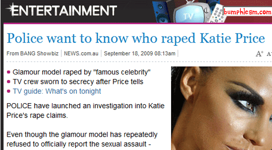 how entertaining - raping katie price