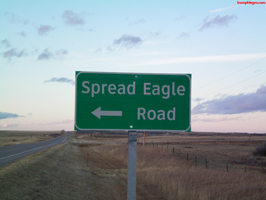 spread eagle road