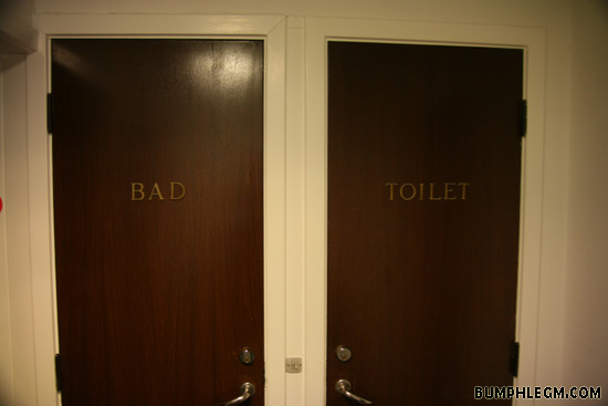 the bad door
