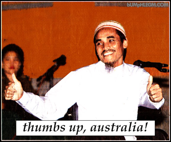 thumbs up australia